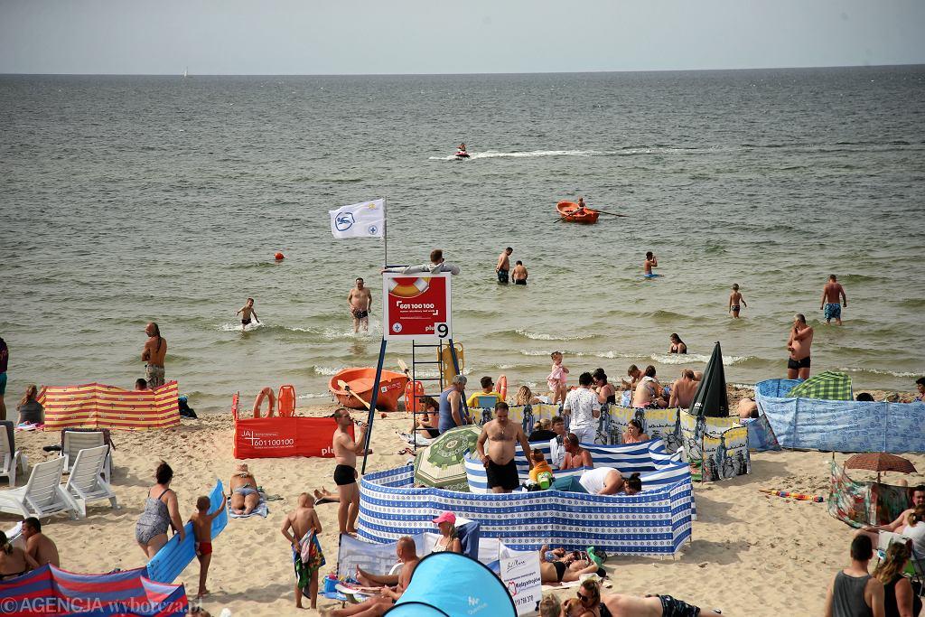 Wakacje nad morzem, zdjęcie ilustracujne.