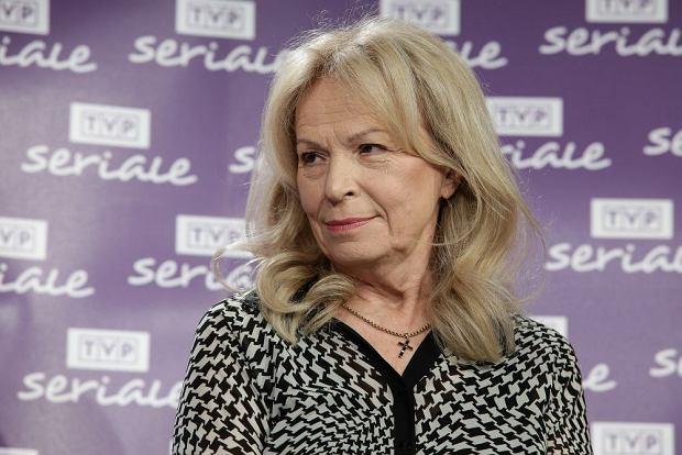 Irena Karel na Jubileuszu Teresy Lipowskiej w TVP Seriale