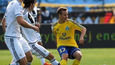 Chorzów. Ruch - Legia Warszawa 1:4. Maciej Urbańczyk