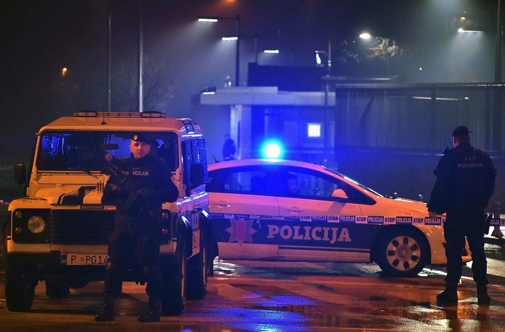 Eksplozja przed ambasadą USA w Czarnogórze