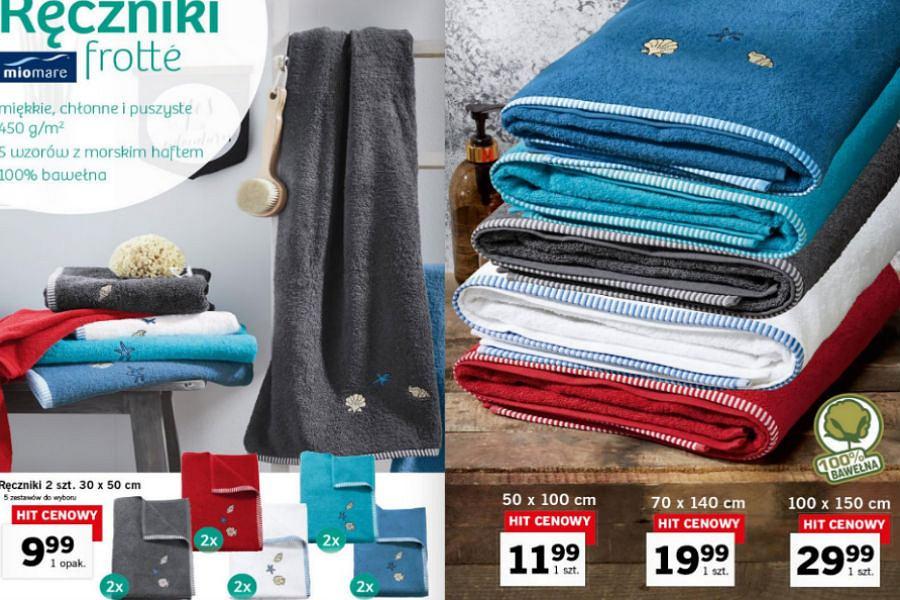 Ręczniki frotte - kolorowy akcent w łazience