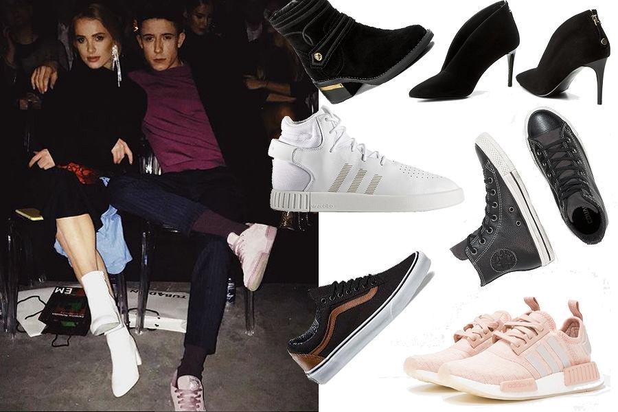 Kolaż, buty dla niej i dla niego/Materiały partnera