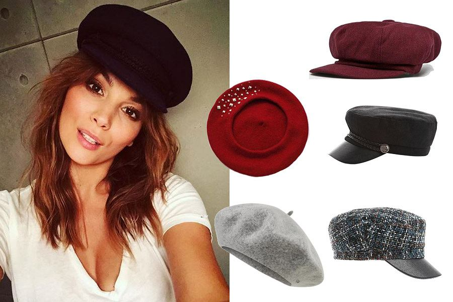 eleganckie czapki/mat. partnera