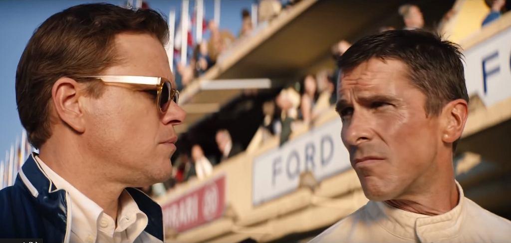 Kadr z trailera filmu 'Ford v Ferrari'