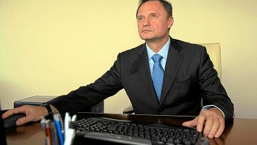 Leszek Czarnecki w swoim biurze. Wrocław, 26 listopada 2012