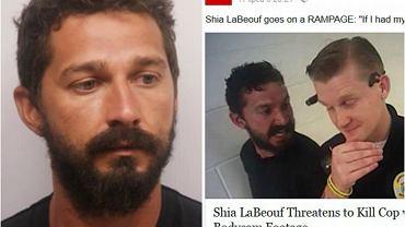 Shia LaBeouf aresztowany