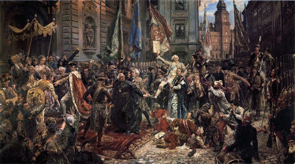 Jan Matejko, Konstytucja 3 Maja 1791