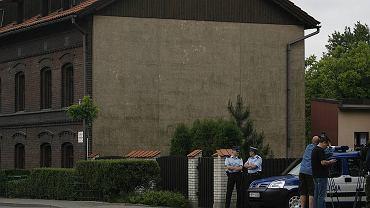Wizja lokalna w domu Barbary Blidy w Siemianowicach Śląskich. maj 2007 rok