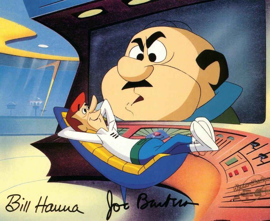 Kadr z kreskówki 'Jetsonowie'