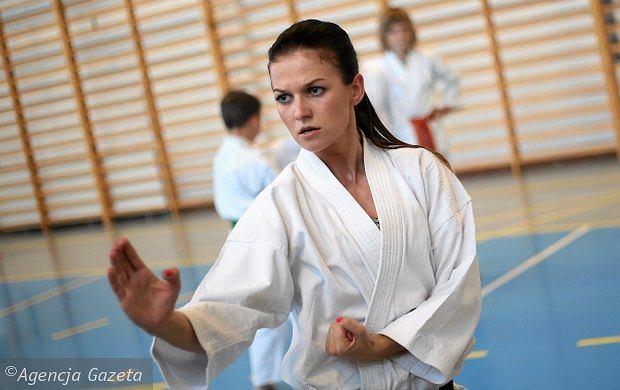Anna Stachurska - gwiazda karate