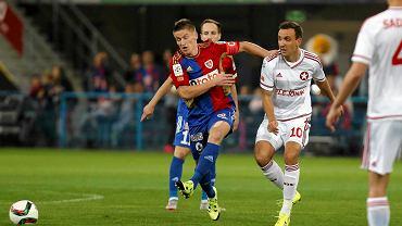 Radosław Murawski w meczu Piast - Wisła Kraków 1:0