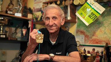 Jan Morawiec zdobył mistrzostwo świata weteranów w maratonie w wieku 82 lat.