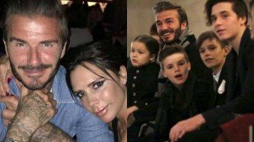 David Beckham, Victoria Beckham / Harper, Cruz, Romeo, Brooklyn Beckhamowie