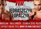 MMA. Jędraszczyk rywalem Łopaczyka na gali FEN 21