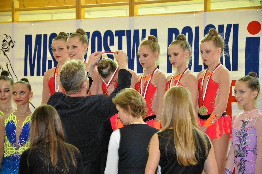 Gimnastyczki artystyczne UKS Błękitna Szczecin
