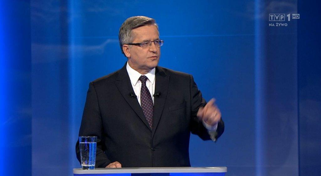 Debata prezydencka Duda - Komorowski