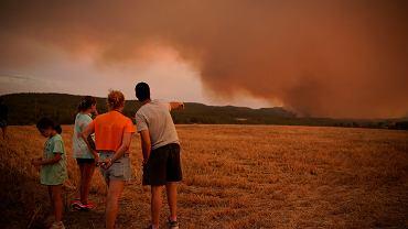 Pożary w Katalonii