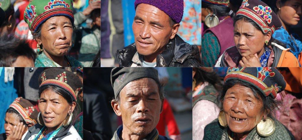 Przedstawiciele plemienia Haku, Nepal
