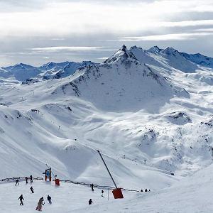 Widokówka - góry zimą