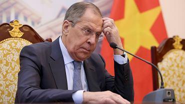 Siergiej Ławrow, szef rosyjskiej dyplomacji