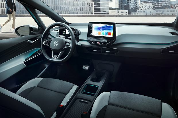 Volkswagen ID.3 będzie komunikował się za pomocą świateł LED