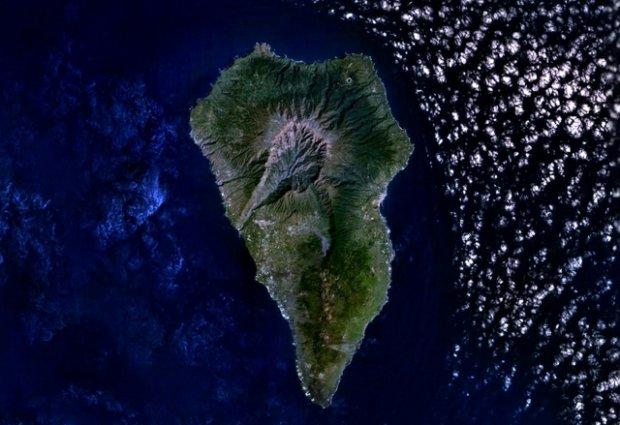 La Palma, fot. NASA