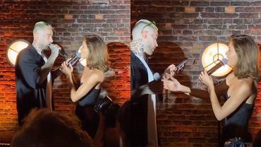 Quebonafide i Natalia Szroeder na weselu Solara. Weszli na scenę i zaśpiewali wielki hit Górniak! To trzeba usłyszeć