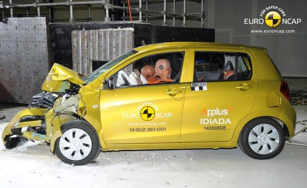 Test zderzeniowy Suzuki Celeiro