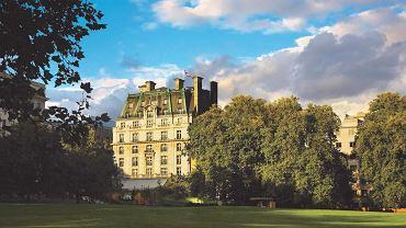 Hotel Ritz - widok od strony Green Park