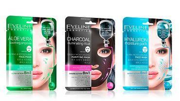 Koreańskie maski płachtowe od Eveline Cosmetics