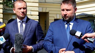 Sławomir Nitras i Marcin Kierwiński