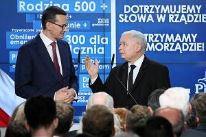 Premier Mateusz Morawiecki zapowiedział 500+ dla niepełnosprawnych