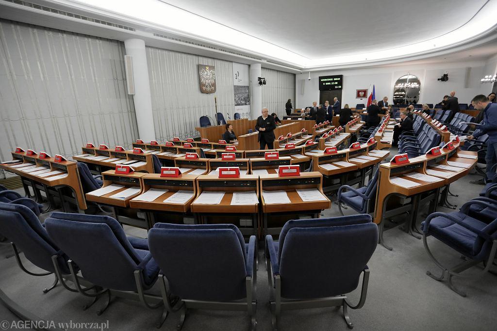 Ostatnie posiedzenie Senatu IX Kadencji