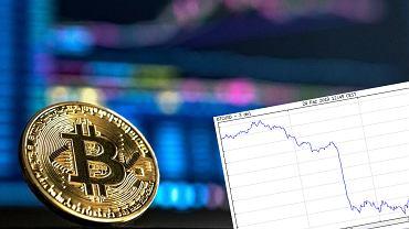 Kurs bitcoina spadł w ciągu 15 minut o 500 dolarów