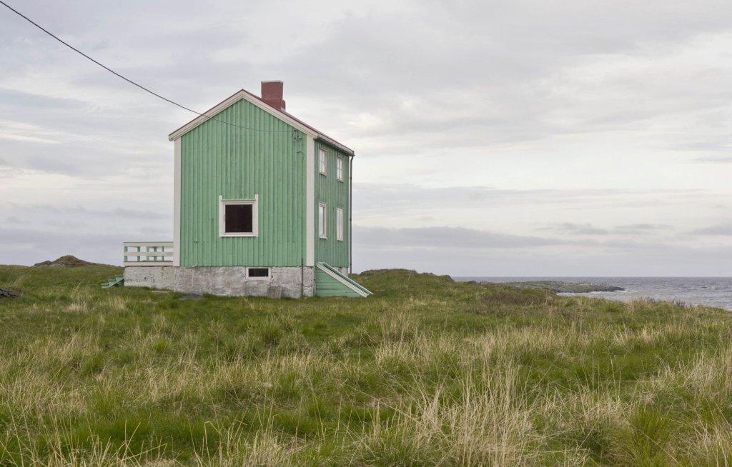 Opuszczony dom koło Gamviku na Półwyspie Nordkinn (fot. Ilona Wiśniewska)
