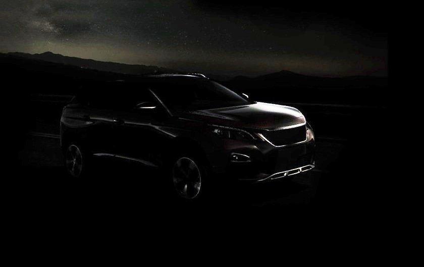 Peugeot 3008 teaser