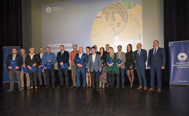 Zdjęcie numer 14 w galerii - Pierwsza Gala Sportu Uniwersyteckiego w Toruniu. Zawodnicy z UMK nagrodzeni