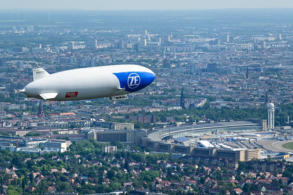 Zeppelin nad Berlinem