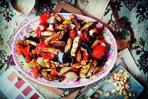 Pieczone warzywa z harissą