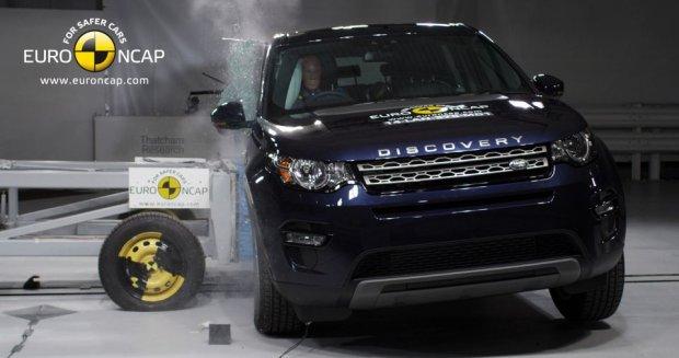 Land Rover Discovery Sport (fot. Euro NCAP)