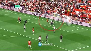 Gol Cristiano Ronaldo w ponownym debiucie w United