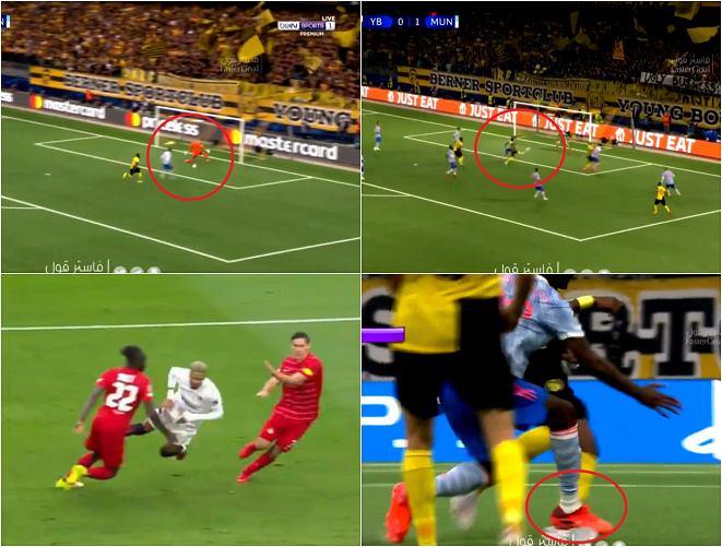Gol Cristiano Ronaldo, gol dla Young Boys, 'symulka' w Sevilli i faul Wan-Bissaki