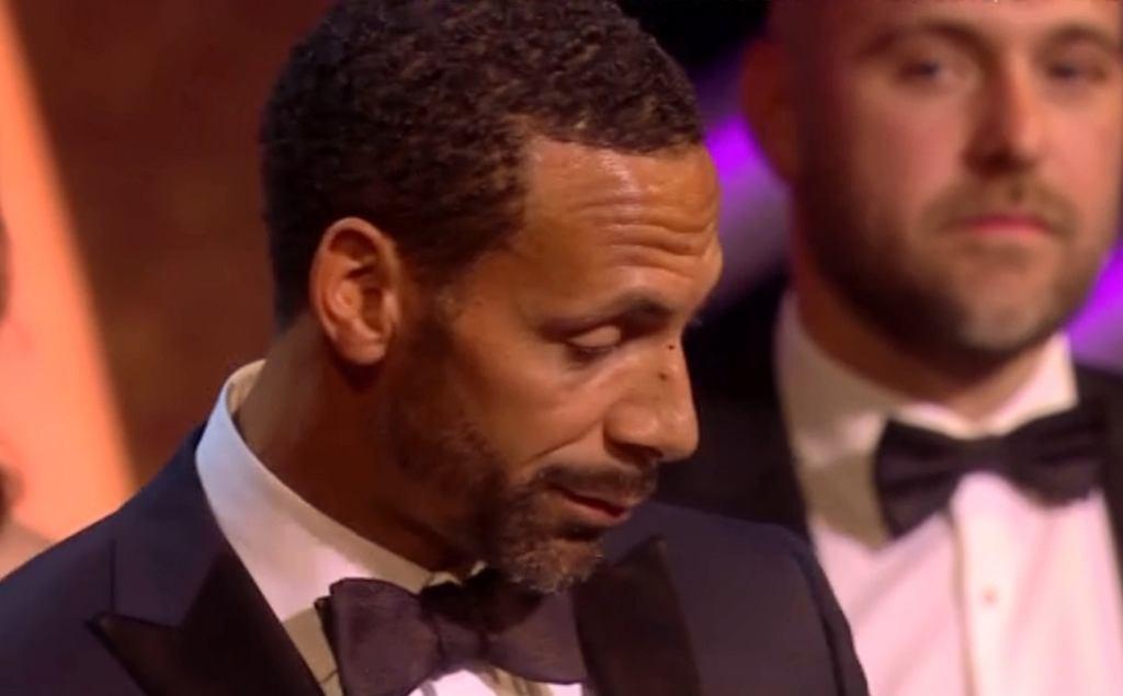 Rio Ferdinand na BAFTA 2018