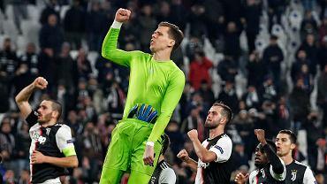 Wojciech Szczęsny po meczu Juventusu Turyn z Atletico Madryt