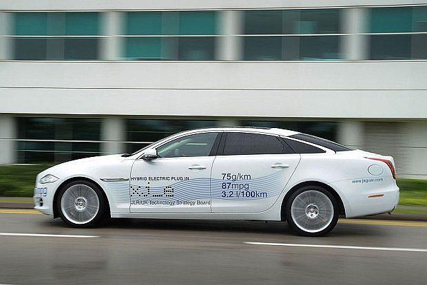 Jaguar XJ Plug-in-Hybrid