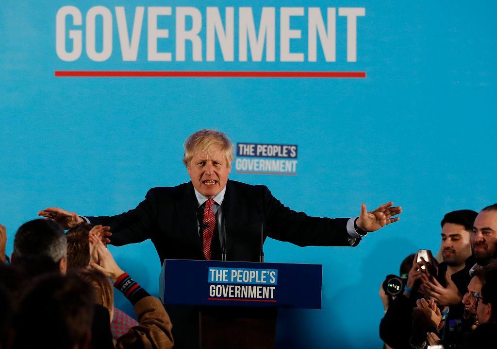 Brexit. Boris Johnson, premier Wielkiej Brytanii.