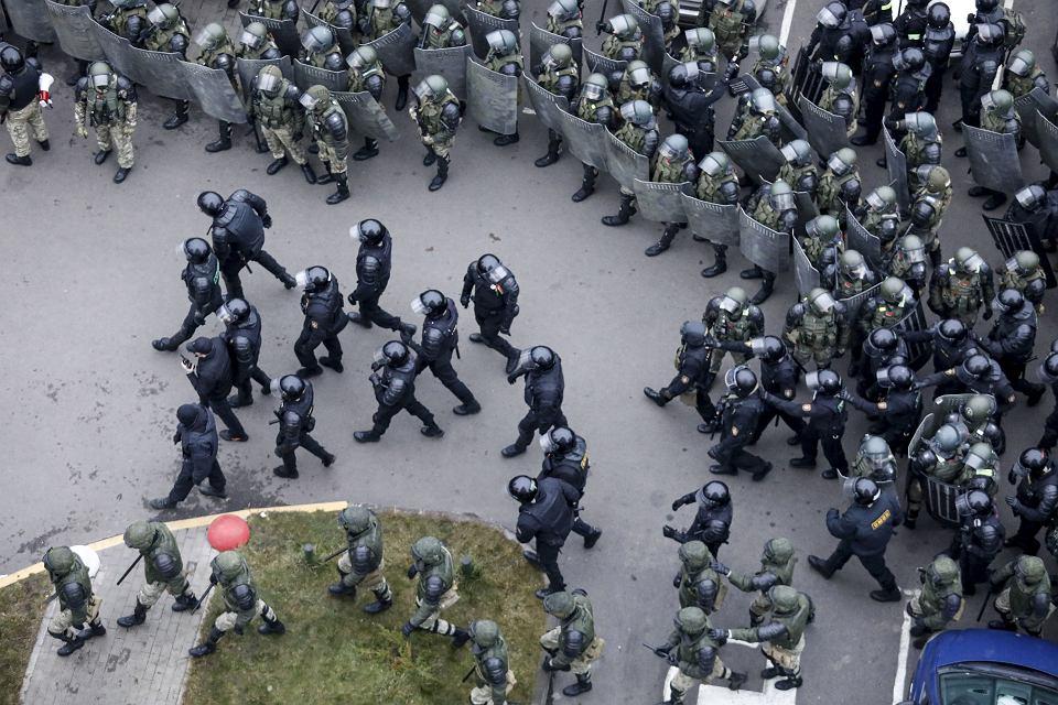 Protesty w Mińsku, 15 listopada 2020 r.