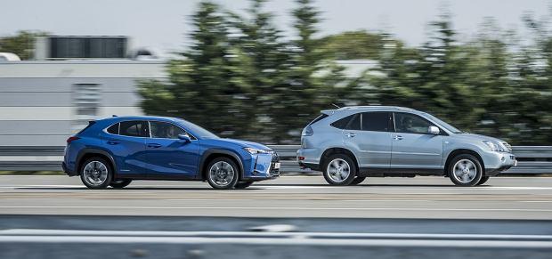 Hybrydowe SUV-y Lexus RX400h i RX250h
