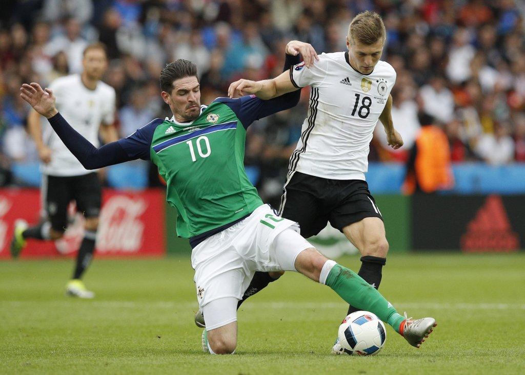 Irlandia Północna przegrała z Niemcami 0:1