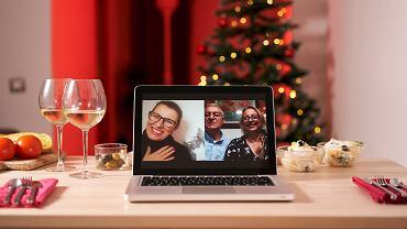 Wigilia online - bezpieczna forma świątecznego spotkania z najbliższymi.